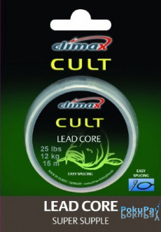 Climax Leadcore 65lbs 30kg weed olive 1000m