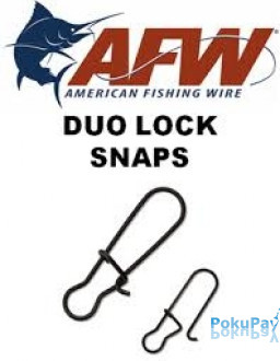 AFW DUO LOCK SNAPS №1 20LB FDS01B 50шт